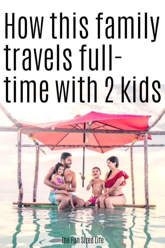 Full time travel with a family. The Jetsetting Family's story.