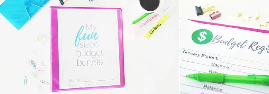 Fun Sized Life Budget Bundle, Budget Printouts,