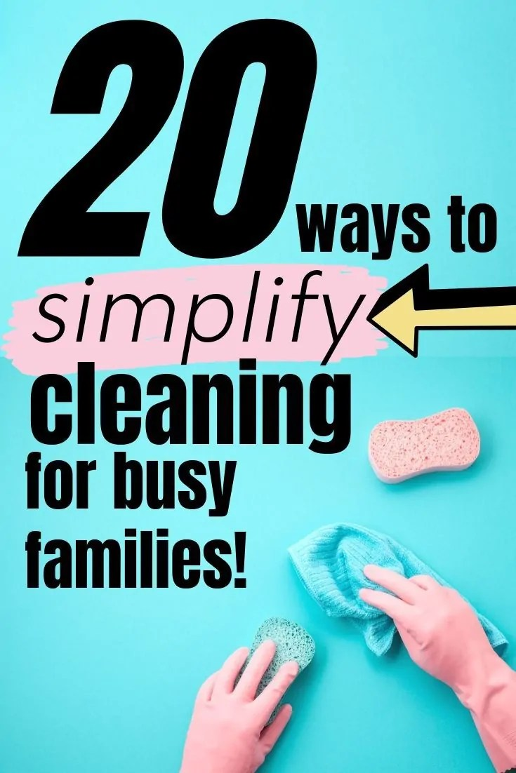 Tidying up doesn't have to be impossible even if you are home all day. Check these 20 tidying up hacks to use especially if you are a stay at home parent.