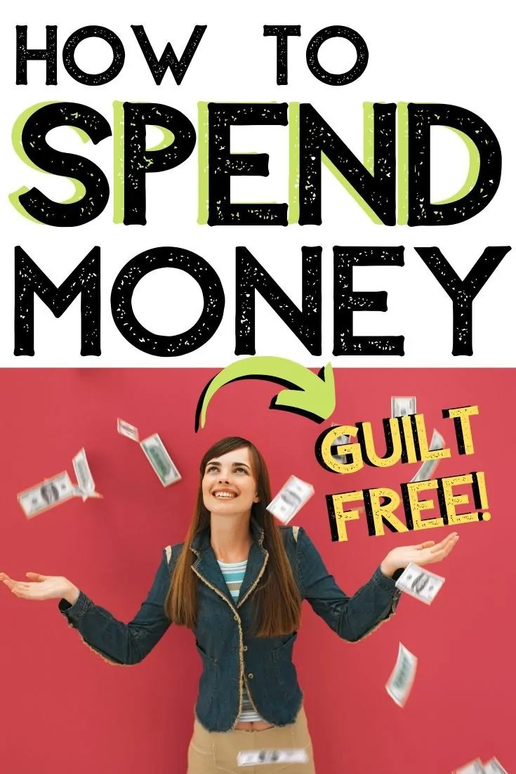 People want to spend money, but most have a fear of spending money on themselves. Here are practical tips to fix this and start living today!