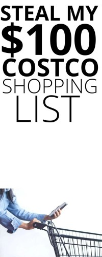 $100 Healthy Organic Costco Shopping List