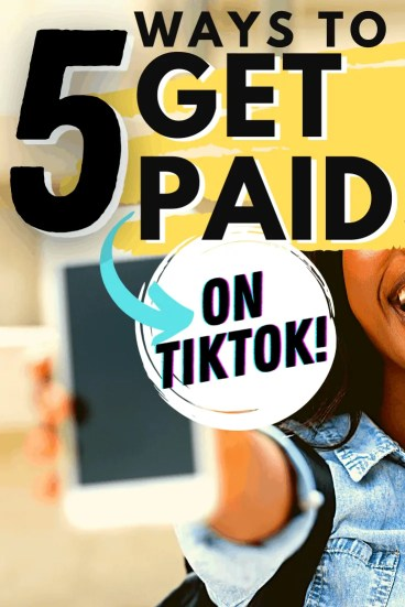 5 Ways to Get Paid on TikTok for Extra Cash