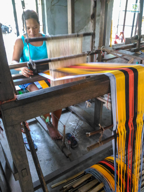 Abel Loom Weaving
