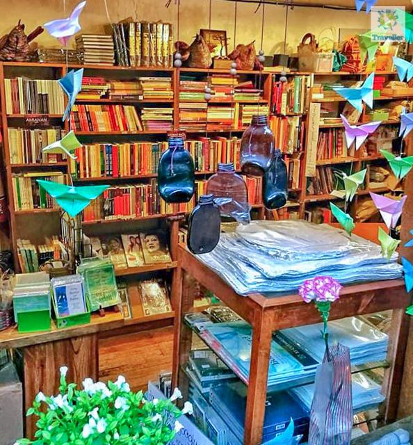 The Mt. Cloud bookshop at Casa Vallejo Bldg, DPS Compound Access Road, Baguio city.
