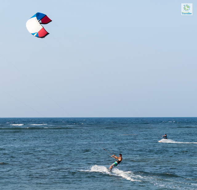 Kite surfing at Kingfisher.