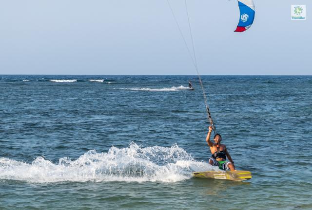 Windsurfing at Kingfisher.