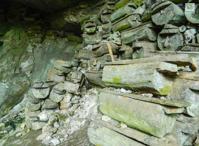 Lumiang Burial Cave in Sagada