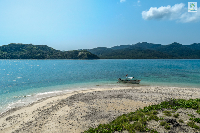 Crocodile island of Palaui