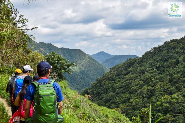 trek to Batad Rice Terraces