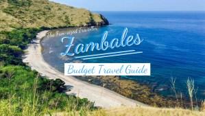 Zambales DIY Itinerary