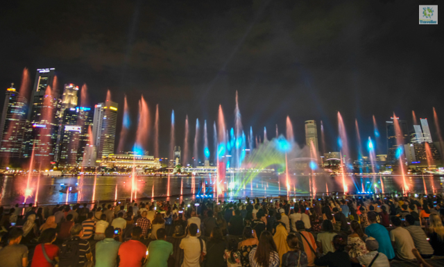 Spectra Light and Show at Marina Bay Sands