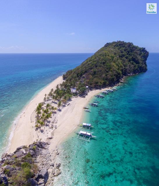 "Cabugao Gamay (or ""selfie"" island) of Gigantes Islands"
