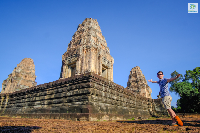 The Fun-sized Traveller at the left section of Eastern Mebon.