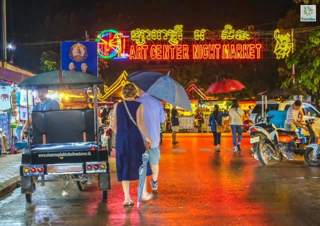 Angkor Art Night Market