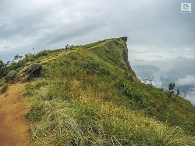 A far look of Phu Chi Fa peak.