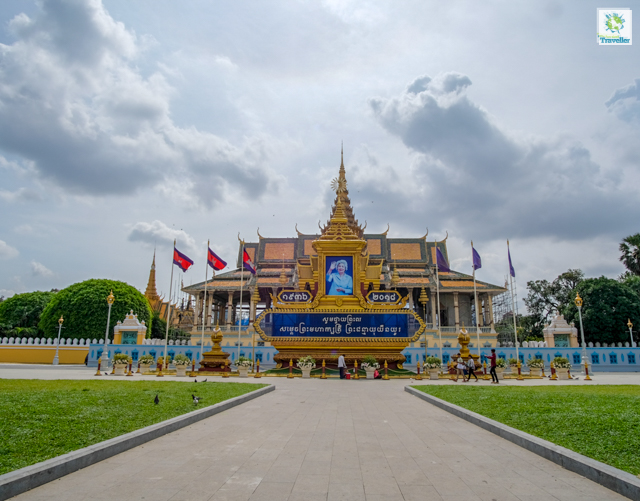 The Royal Palace of Cambodia.