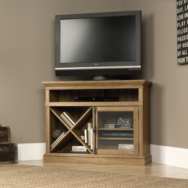 Sauder 414723 Corner Tv Stand Furniture