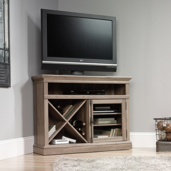 Sauder 414729 Corner Tv Stand Furniture