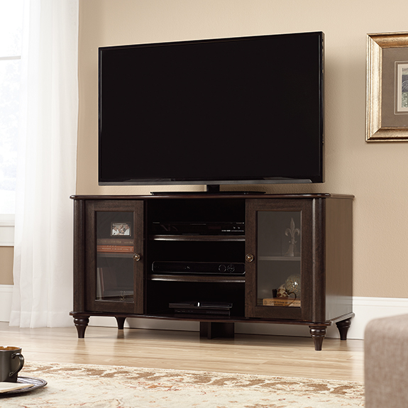 sauder new albany tv stand