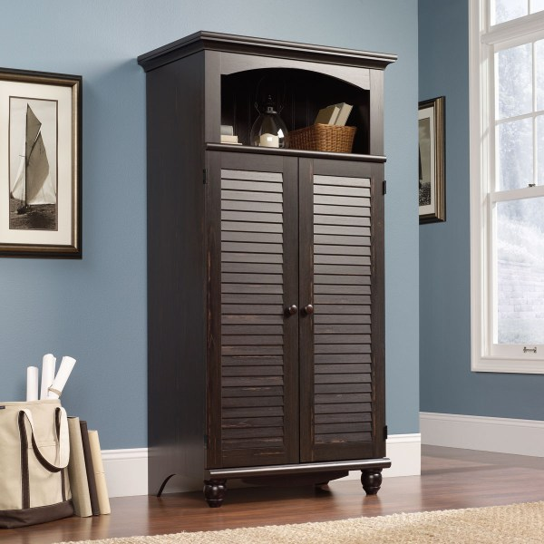 Harbor View Computer Armoire Desk