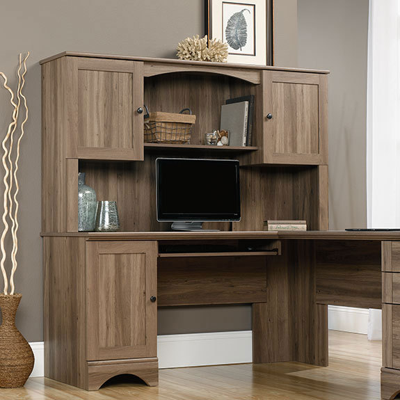 Sauder Harbor View Hutch 417587 Sauder The Furniture Co