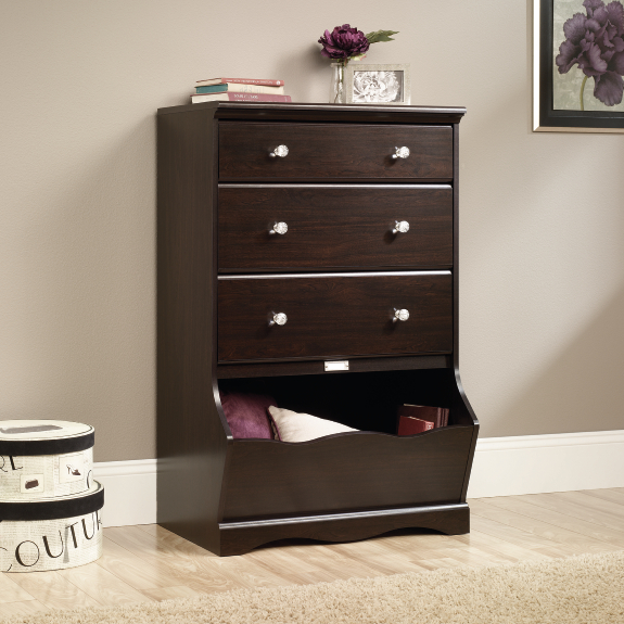 Sauder 417675 Pogo 3 Drawer Chest The Furniture Co