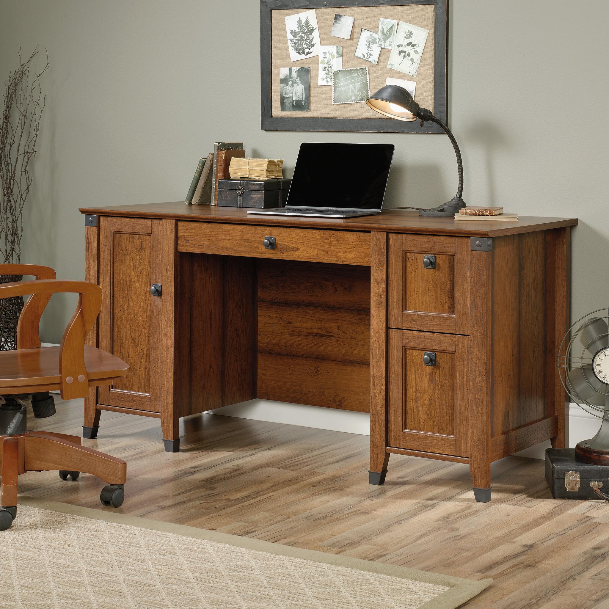 Sauder Carson Forge Computer Desk 422032  Sauder  The