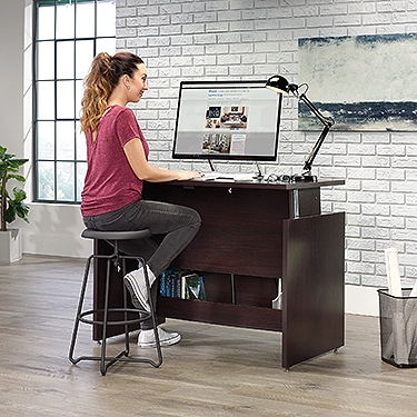 sauder shoal creek sit stand desk