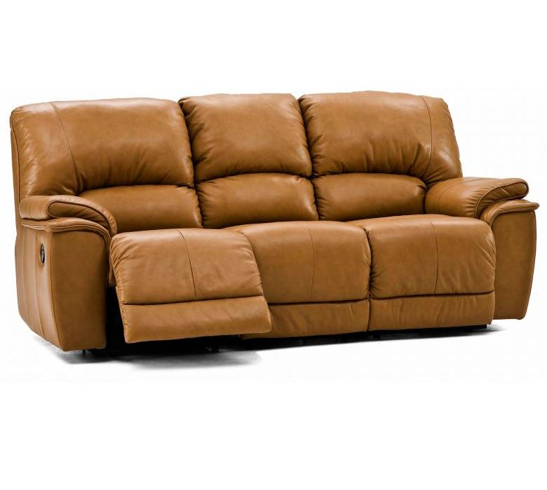 PALLISER DALLIN LEATHER RECLINING SOFA  SET  Colliers Furniture Expo