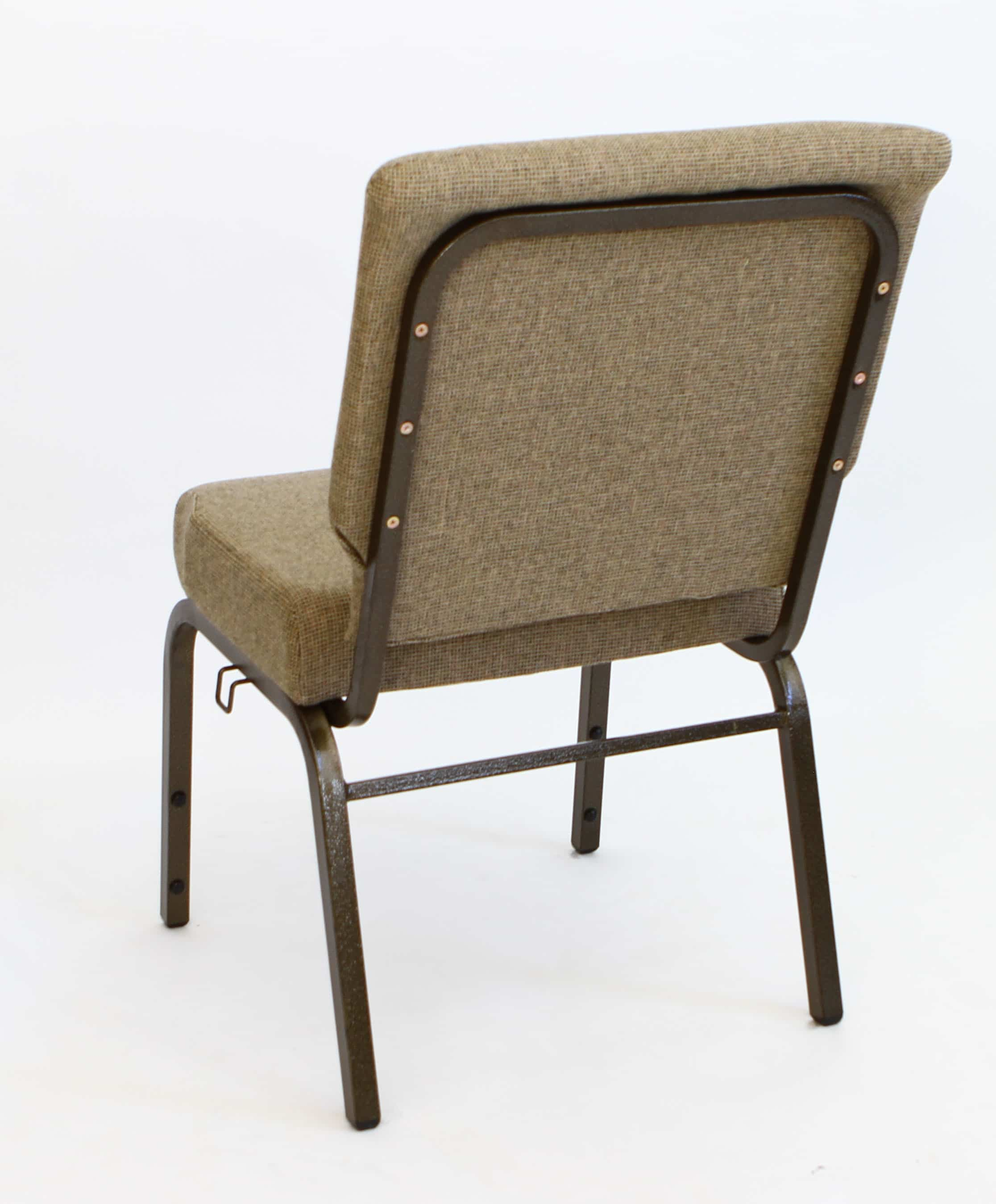 cathedral chairs fishing chair and bag am cc mixed tan 20 inch padded church the