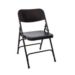 Folding Quad Chair Eddie Bauer Wooden High Am-mfc Black Metal | The Furniture Family