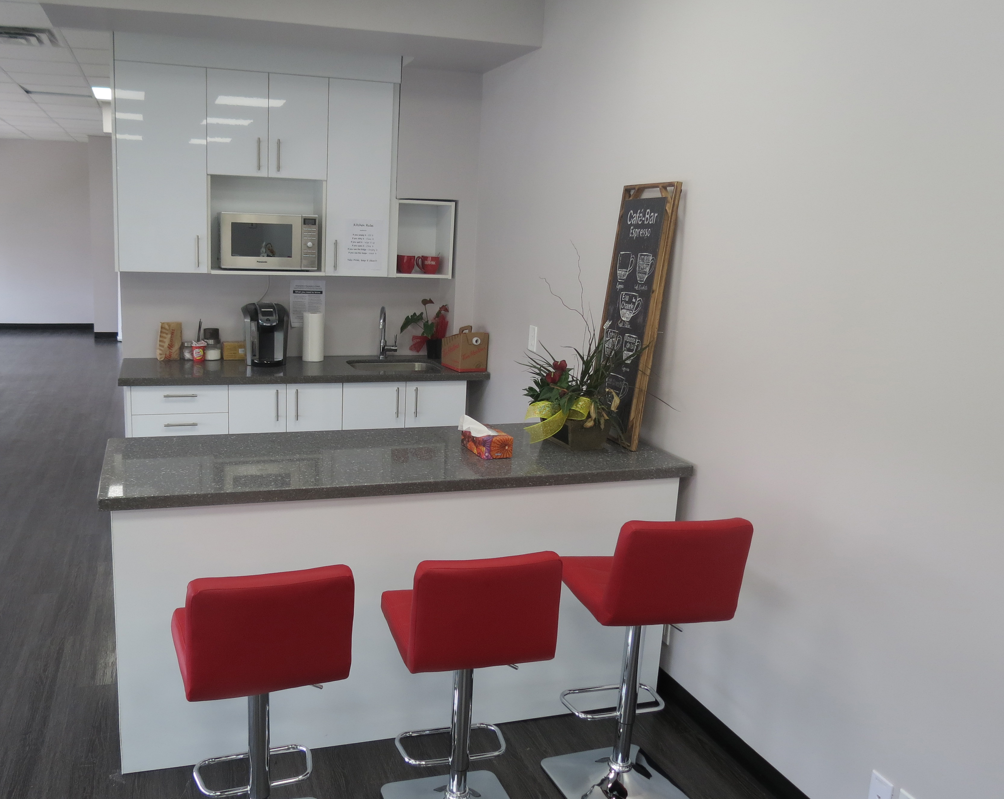 Custom Office Kitchens and Millwork  Modern Office Kitchens