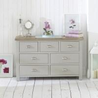 Painted Furniture, Grey, Cream & White Painted Oak Bedroom ...