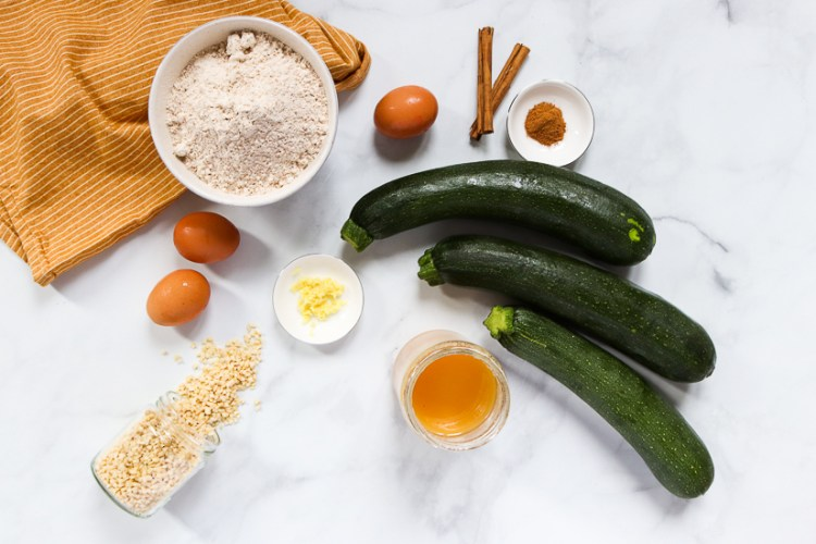 Ingredientes Zucchini Bread