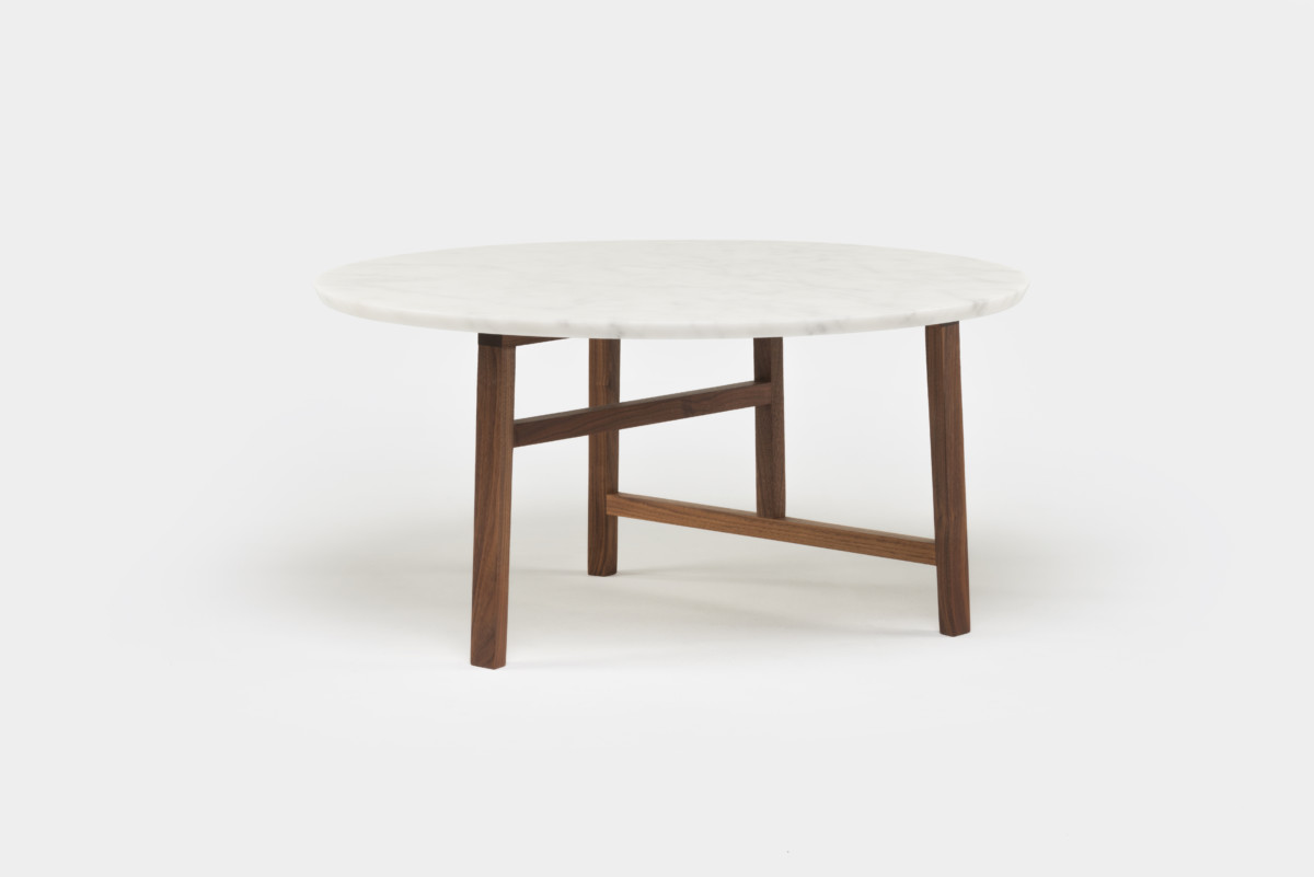 trio round marble coffee table neri hu the future perfect