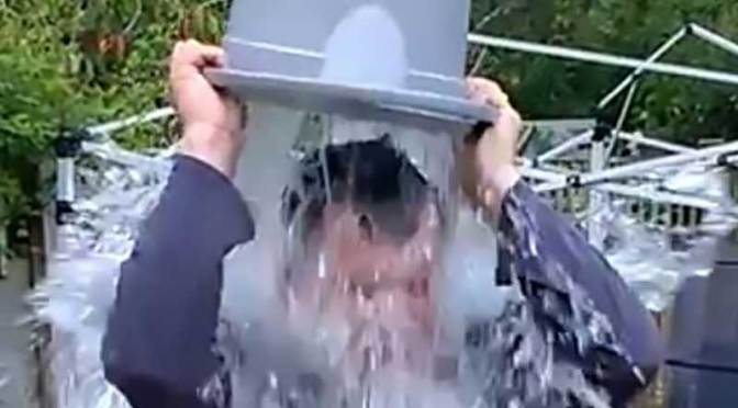 Gadget Man – Ice Bucket Challenge