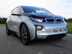 BMW i3 front view