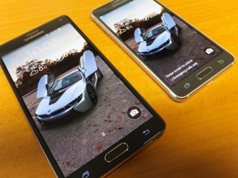 Samsung Galaxy Note 4 and Samsung Galaxy Alpha