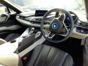 BMW i8 Interior drivers side