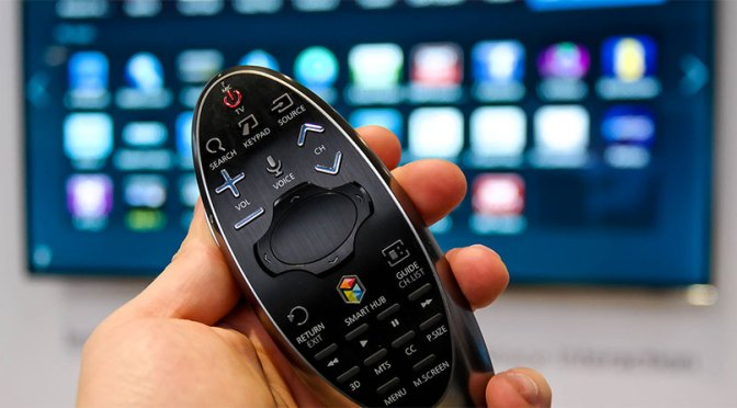 Samsung Smart TV Remote with Voice Recognition