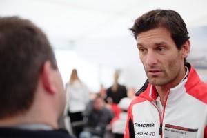 Matt Porter interviews Mark Webber about the Porsche 919 LMP1