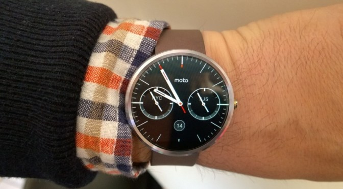 The Gadget Man – Episode 45 – Motorola Moto 360 Smartwatch with Android Wear