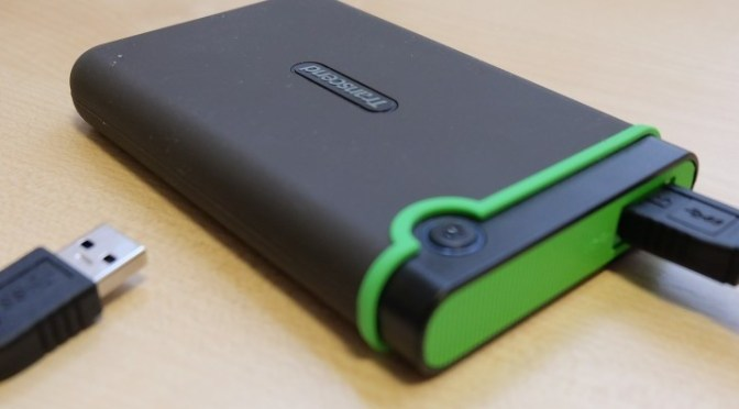 Transcend Storejet 25M3 1TB USB 3.0 Hard drive