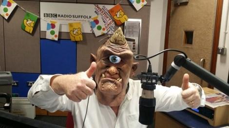 Cyclops Mask from Digital Dudz modelled by Mark Murphy
