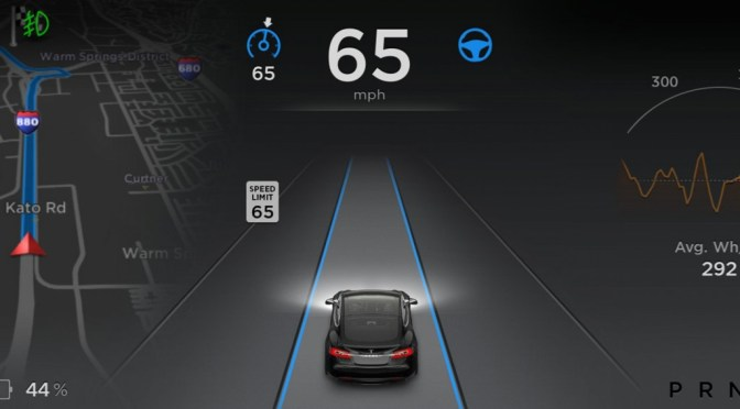 Tesla Model S Software Update 7.1 Summon Mode