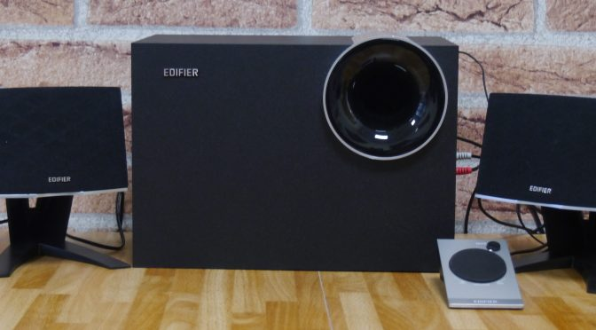 Edifier M1380 2.1 Speakers, a compact alternative.