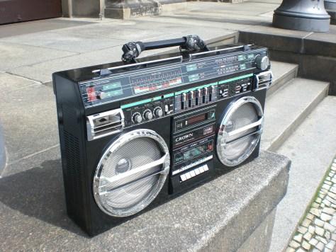 Ghetto-Blaster or Boom-Box