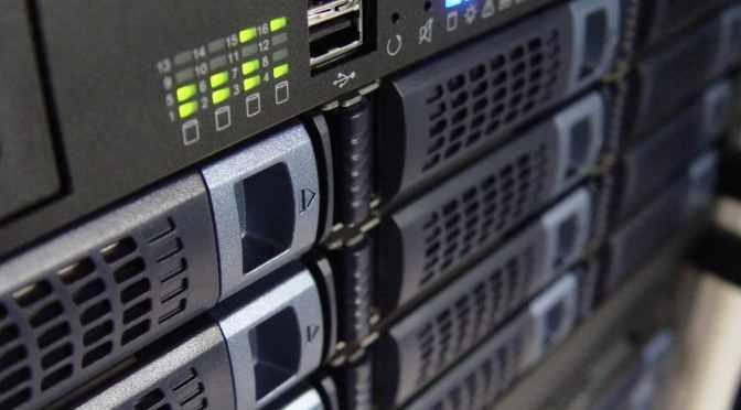 Cloud Backups at a Server Center