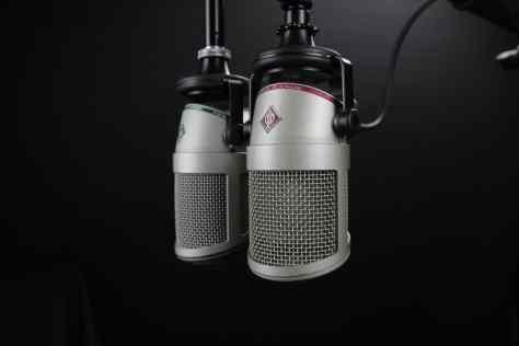 Matt Porter, The Gadget Man speaking on Radio Suffolk