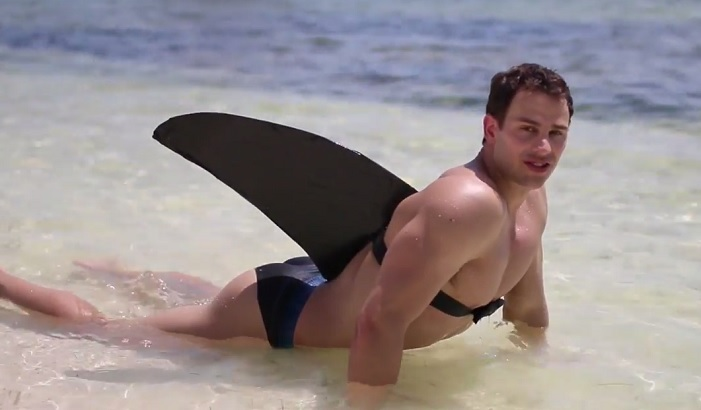 Bryan Hawn's Booty Stars In 'Shark In The Water' Parody [NSFW]